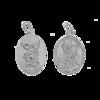Medalik srebrny - Święty Michał ML012