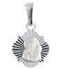 Medalik srebrny diamentowy - Matka Boska Częstochowska MD47