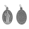 Medalion Boga Ojca - medalik srebrny Święty Benedykt ML010