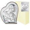 Obrazek srebrny Matka Boska z dzieciątkiem 81051