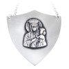 Ryngraf srebrny 925 Matka Boska Częstochowska R15
